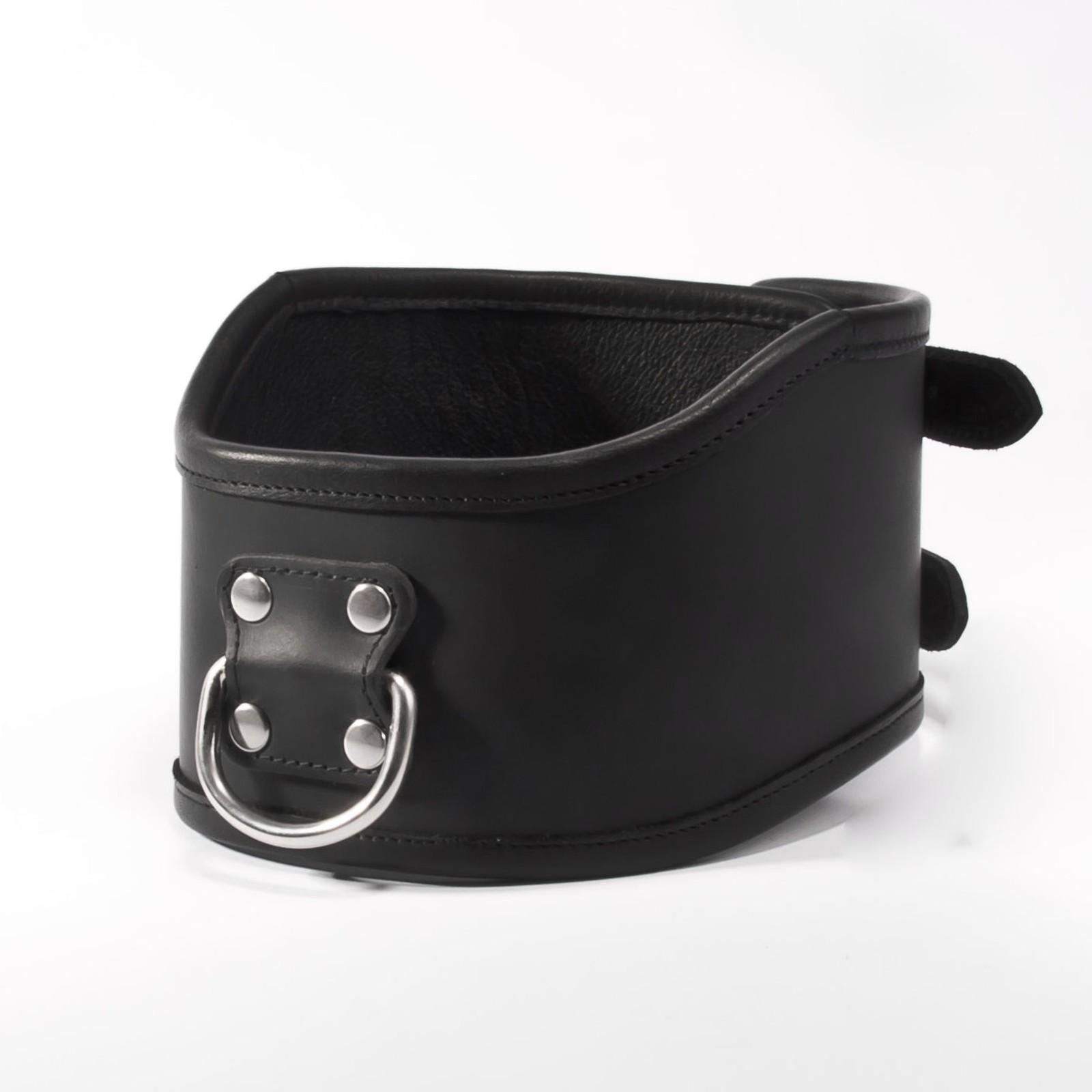 Hohes Halsband - Halskorett aus Leder
